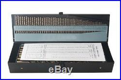 115Pcs HSS Cobalt Drill Bits Set M35 Co5% Jobber Length Twist Drill Bit steel