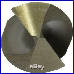 115 Piece Cobalt Drill Bit Set In Metal Case, Sizes 1/16 1/2, A Z, #1 #60