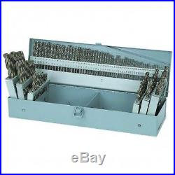 115 Piece Cobalt High Speed Drill Bit 3-in-1 Set with Metal Indexed Storage C