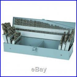 115 Piece Cobalt High Speed Drill Bit 3-in-1 Set with Metal Indexed Storage Tips