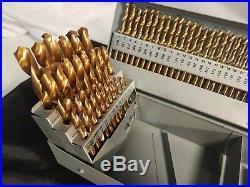 115 Piece Drill Bit Set Titanium Nitrate Unused condition