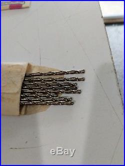 199 Piece 707C Super Cobalt HSS Drill Bit Set Champion Size 21-40. Made in USA