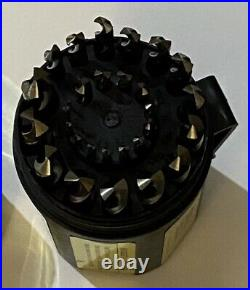 1/16-1/2 Cobalt Jobber Drill Bit Set, Shatter Proof Case, 29pc, Drill America