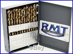 #1 #60 Jobber Length Cobalt Drill Set 135°Point Quality USA RMT #95090854