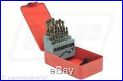25 Piece Cobalt Drill Bit Set1-13 MM