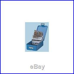25 Piece Cobalt Steel Drill Bit Set, Clarke International, 1801384