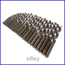25 Pieces Sharp M35 HSS Cobalt Drill Bit Set for Metal, Wood, Plastic 113mm