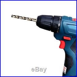 25pcs M42 HSS Twist Drill Bit Set For Stainless Metal 8% High Cobalt Copper Iron