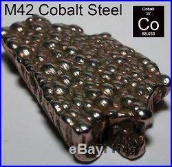 26 Pc LETTER Drill Bit Set A-Z Bits COBALT M42 Drilll Stand Drill Hog USA