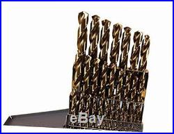 29 Pc Cobalt Drill Bit Set M42 HSS 29pc USA Drills Lifetime Warranty Made in USA