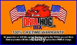29 Pc Super Premium Cobalt M42 Drill Bit Set Orange Lifetime Warranty Drill Hog