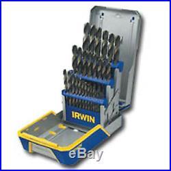 29 Piece Cobalt Drill Bit Set M35 Hardness IRWIN INDUSTRIAL TOOL CO 3018002