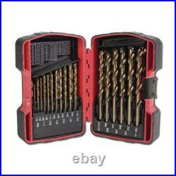 29 Piece Cobalt Grade Drill Bit Set, Mac, 6429DSA, Advanced Helical Flute Set