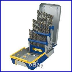 29 Piece Drill Bit Set-Cobalt M42 Irwin / Hanson / Vise Grip HAN3018002B
