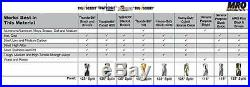 29pc Jobber Drill Set, 1/16-1/2 by 64ths, Heavy Duty, Cobalt, Triumph 099822