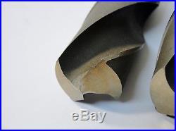 2 Pc Hsco USA 1-5/16 & 1-3/16 Cobalt Drill Bit Set