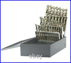 300C29 29 Pc Cobalt Stubby Drill Set 1/16 1/2 By 64ths Drillco Cutting Tools