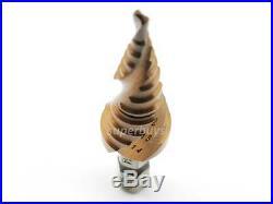 3-14mm Cobalt HSS Spiral Unibit Step Cone Drill Bit Bore Hole Cut Set Electrical