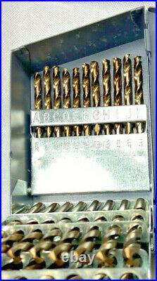 3 Sets, 29 PC 1/16 to 1/2 A to Z & #1 to #60 Cobalt Jobber Drill Bit Huot Box