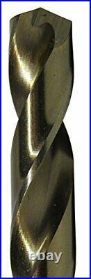 60 Piece m42 Cobalt Screw Machine (Stub) Drill Bit Set (Wire Sizes #1 #60)