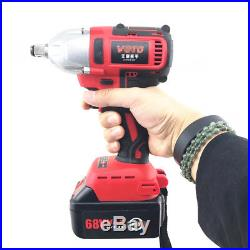68V Brushless Electric Impact Wrench Gun Set impact electric drill with Case