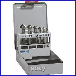 6 Piece Cobalt Countersink Set