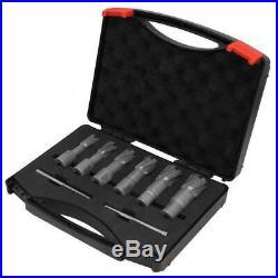 6pcs Set Annular Cutter Cobalt 3/4 Weldon Shank 5/8 1 Magnetic Drill Bit US