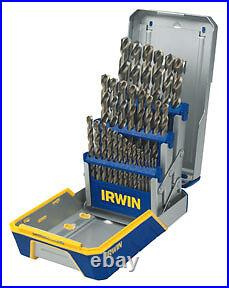 AHN 3018002 29 Pc. Cobalt M-35 Metal Index Drill Bit Set