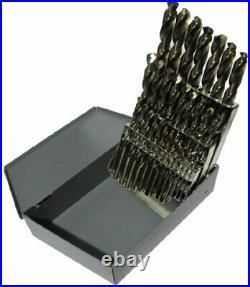 A-Z 26 Piece Cobalt Screw Machine Drill Bit Set, Drill America, D/A26S-CO