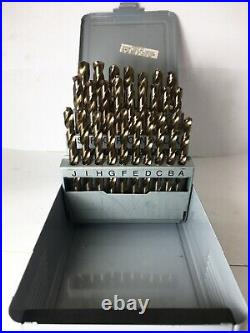 A-z 26pc Cobalt Jobber Drill Set USA 738-21026 307cl V102-103