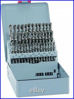 Alpen Tool Drill Bit Stainless Steel HSS Cobalt KM 41 Pc Set 6.0mm-10mm X 0.1 mm