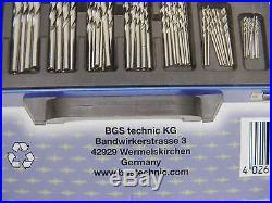 19 pcs. HSS Twist Drill Set 1-10 mm BGS 2014