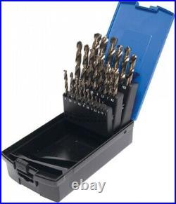 BGS Spiral Drill Set HSS G M35 Cobalt Steel 1-13 MM 26 Pieces 116