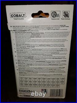 Bn Dewalt Extreme 29 Piece Industrial Cobalt Drill Bit Set Rrp £105.99 Dt4957-qz