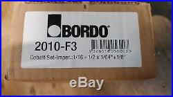 Bordo Cobalt 29 Piece Imperial Drill Set 2010-F3 NEW