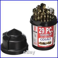 Boring Drill Bits ITM CX-1 Bullet Case Cobalt (29 Piece/1 Pack) NEW SET LOT TOOL