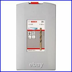 Bosch 25 Piece HSS-Co Drill Bit Set