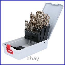 Bosch 25 piece Metal Twist Drill Bit Set, 1mm to 13mm