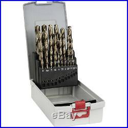 Bosch 25pc Cobalt HSS-CO Steel Twist Drill Bit Set DIN 338 1-13mm 2608587018