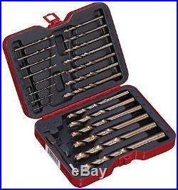Bovidix 1902103623 Drill Bit Set Cobalt, Metric, 22-Piece