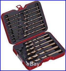 Bovidix 1902103623 Drill Bit Set Cobalt Metric 22pc Jobber Drill Bits