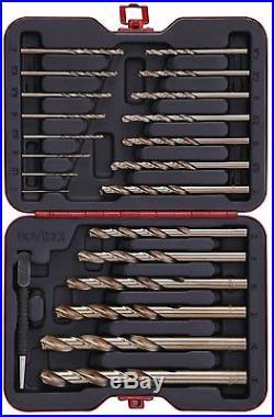 Bovidix Drill Bit Set Cobalt, Metric, 22-Piece
