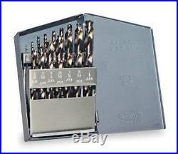 CHICAGO-LATROBE 57852 Jobber Drill Bit Set, 15-pc, 1/16 to 1/2In