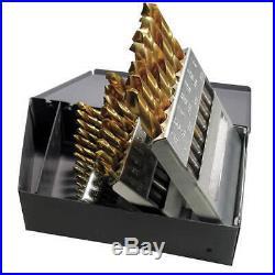 CHICAGO-LATROBE 69870 Jobber Drill Set, 29 pc, Cobalt