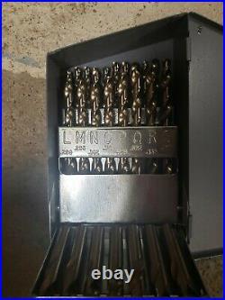 CHICAGO-LATROBE 69886 Jobber Drill Set, 26 pc, Cobalt