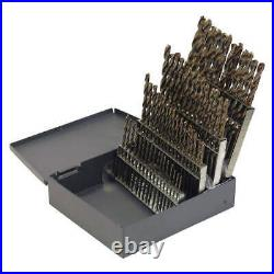 CLEVELAND C70366 Jobber Drill Set, 60 pc, Cobalt