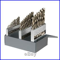 CLE-LINE 29-Piece Cobalt Twist Drill Bit Set