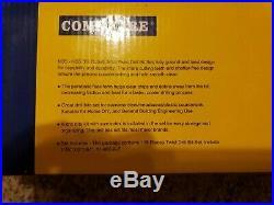 COMOWARE 115Pc Cobalt Twist Drill Bit Set M35 Jobber Length #1-#60 1/16-1/2SET