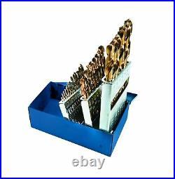 Century Drill & Tool 26129 Pro Grade Cobalt Drill Bit Set, 29-Piece