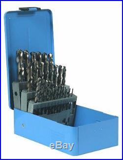 Century Drill and Tool 26129 Cobalt High Speed Steel Drill Bit Set, 29-Piece